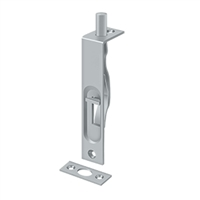 "Deltana 4Fbs26D - 4"" Flush Bolt, Hd - Brushed Chrome Finish"