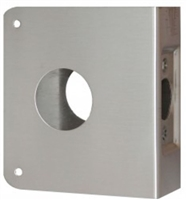 "Don Jo 5-Cw-S, For Deadbolts W/1 1/2"" Hole, S Finish"