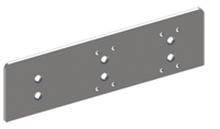 Hager 5115, Drop Plate Top Jamb Mount With Screws For 5100 Series