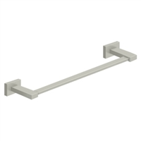"Deltana 55D2002-18-15 - 18"" Towel Bar, 55D Series, Brushed Nickel Finish"