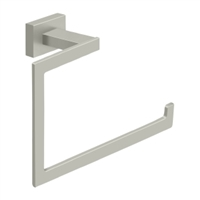 "Deltana 55D2008-15 - 6"" Towel Bar, 55D Series, Brushed Nickel Finish"