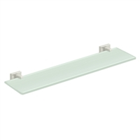 "Deltana 55D2015-14 - 22"" Glass Shelf, 55D Series, Polished Nickel Finish"