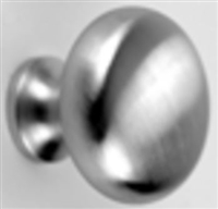 "Don Jo 56-605, 1-1/2"" Solid Knob, 605 Finish"