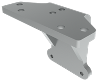 "Hager 5935, 2"" Extra Clearance Bracket For 5100 Series"