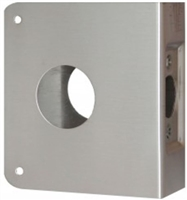"Don Jo 6-Cw-S, For Deadbolts W/1 1/2"" Hole, S Finish"