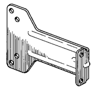 S. Parker Hardware 609: Parallel Arm Bracket For 500 Series Door Closers