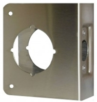 "Don Jo 61-Cw-S, For Cylindrical Door Lock W/2 1/8"" Hole, S Finish"