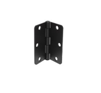 "Ultra Hardware 62134, 3-1/2"" X 3-1/2"" Door Hinge, 2.2Mm Gauge - Rp, 1/4"" Radius Corner - Plain Bearing, Oil Rubbed Bronze/Us10B - Box Of 2"