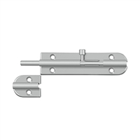 "Deltana 6Bb32D - 6"" Barrel Bolt - Us32D Finish"