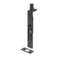 "Deltana 6Fbs10B - 6"" Flush Bolt, Hd, Square - Oil-Rubbed Bronze Finish"