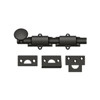 "Deltana 6Sb10B - 6"" Surface Bolt, Hd - Oil-Rubbed Bronze Finish"