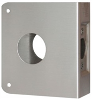 "Don Jo 7-Cw-Ab, For Deadbolts W/1 1/2"" Hole, Ab Finish"