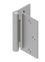 Hager 72526 - Ab853 -  5 In Half Surface Hinge, Brass or Stainless Heavy Weight Concealed Bearing, Box of 3, Us26d