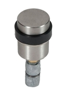 Trimco 7276.620 - Focal Wall Stop Cast, Satin Nickel Plated, Blackened, Satin Relieved, Clear Coated