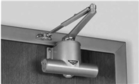 Norton 78B-D-Ra-689, Non Hold Open Surface Closer, Regular Arm, B/D Spring Size 2 Thru 4 In Aluminum 689 Finish