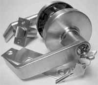 S. Parker Hardware 8161P26D Dull Chrome Grade 1 Lever Privacy
