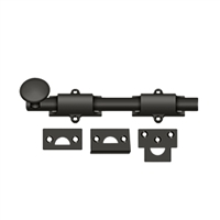 "Deltana 8Sb10B - 8"" Surface Bolt, Hd - Oil-Rubbed Bronze Finish"