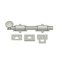 "Deltana 8Sb15 - 8"" Surface Bolt, Hd - Brushed Nickel Finish"