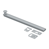 "Deltana 8Sbcs26D - 8"" Surface Bolt, Concealed Screw, Hd - Brushed Chrome Finish"