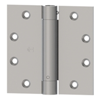 Hager 92328 - 1257 -  3-1/2 In x 3-1/2 In Reverse Action Spring Hinge (Opens Door), Steel Full Mortise Standard Weight, Box of 2, Usp