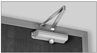 Norton 9302Bcx9318A: Fixed Size 3 Closer With Regular Arm, Soffit Plate And Backcheck