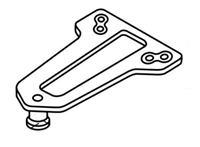 Norton 9318A: Norton 9300Bc Series Door Closers Accessories - Parallel Arm Bracket, Non-Hold Open