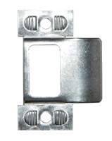 "Don Jo 9450-CP, 2-3/4"" x 1-1/4"" Adjustable T Strike, Chrome Plated"