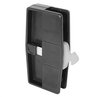 Prime Line A 157 - Screen Door Latch & Pull W/Security Lock, Black, Columbia
