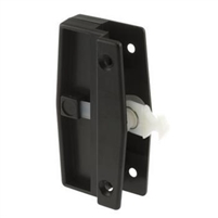 Prime Line A 172 - Screen Door Latch & Pull W/Security Lock, Hat Section Style