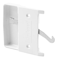 Prime Line A 205 - Sliding Screen Door Latch & Pull, White, Andersen