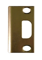 "Don Jo A-2-SS-BP, 3-3/4"" x 1-1/4"" Adjustable Security Strike For Deadbolt, Brass Plated"