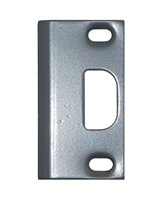 "Don Jo A-2-SS-SL, 3-3/4"" x 1-1/4"" Adjustable Security Strike For Deadbolt, Silver Coated"