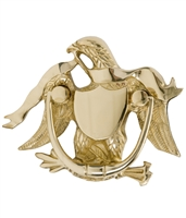 "Brass Accents A04-K2000-605 - Eagle Door Knocker 5-7/8"" Polished Brass - Polished Brass Finish"
