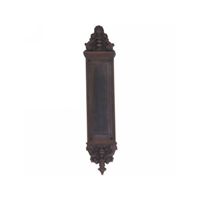 "Brass Accents A04-P5231-Cln-613Vb - Apollo Pull Plate With Colonial Pull 3-5/8"" X 18"" - Venetian Bronze Finish"