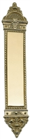 "Brass Accents A04-P8600-619 - L'Enfant Push Plate 3"" X 16-1/2"" - Satin Nickel Finish"