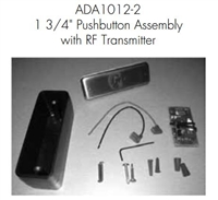 "Norton Ada1012-2 - 1-3/4"" (4.5 Cm) Pushbutton Assembly - With Rf Transmitter For Norton 5800 Adaez Series"