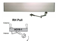 Detex Ao19-1Xrh-Pull, Ao19 Series Single Door Right Hand Pull Low Energy Automatic Door Operator