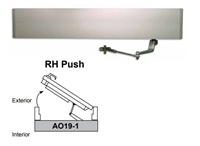 Detex Ao19-1Xrh-Push, Ao19 Series Single Door Right Hand Push Low Energy Automatic Door Operator