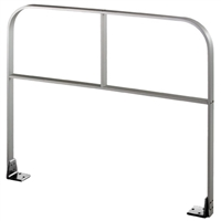 "Commando 36"" X 36"" (Horizontal Dimension X Vertical Dimension) Double Line ""I Brace"" Free Standing Automatic Swinging Door Guide Rail"