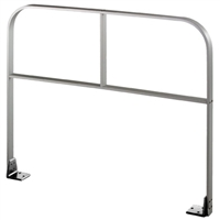 "Commando 42"" X 36"" (Horizontal Dimension X Vertical Dimension) Double Line ""I Brace"" Free Standing Automatic Swinging Door Guide Rail"