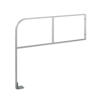 "Commando 48"" X 30"" (Horizontal Dimension X Vertical Dimension) Double Line ""I Brace"" Wall Mounted Automatic Swinging Door Guide Rail"