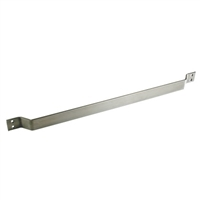 "Commando Automatic Door 3/8"" Thick Stainless Steel Heavy Duty Cart Bar"