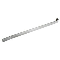 Commando Automatic Door Stainless Steel Heavy Duty Sloped Cart Bar