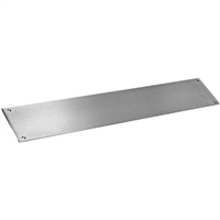 "Commando Automatic Door Stainless Steel Extra Heavy Duty Protection 6"" Tall Push Bar"