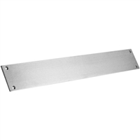 "Commando Automatic Door Stainless Steel Extra Heavy Duty Protection 4"" Tall Push Bar"