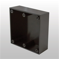 "ADH Select Commercial Automatic Door 4"" X 4"" X 1.5"" Black Surface Mount Box Used For AS1329H20 Handicap Switch For Horton Automatic Door"