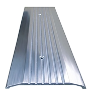 Gorilla Heavy Duty ADA Compliant Aluminum Saddle Threshold for Commercial Applications, Made In USA, Specify Size and Finish