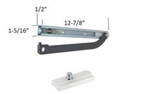 "Celtic / Spartacus Aluminum Storefront Offset Pivot Door ""VO"" Type Offset Surface Top Slide Arm Assembly For 7/8"" Depth Top Rail"