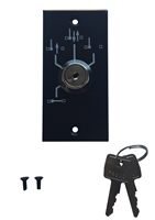 ADH Select Commercial ADA Door Opener 4 Position Key Switch Assembly For Besam SW200i Handicap Swing Door Opener