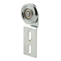"Prime Line B 533 - Screen Door Roller Assembly, 1-1/6"" Steel, B.B., Premier"